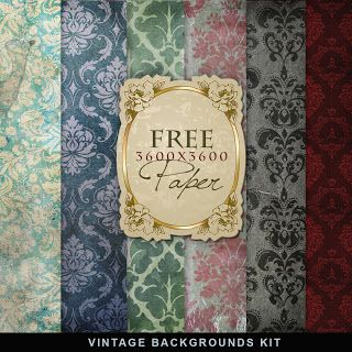 Freebies Vintage Backgrounds