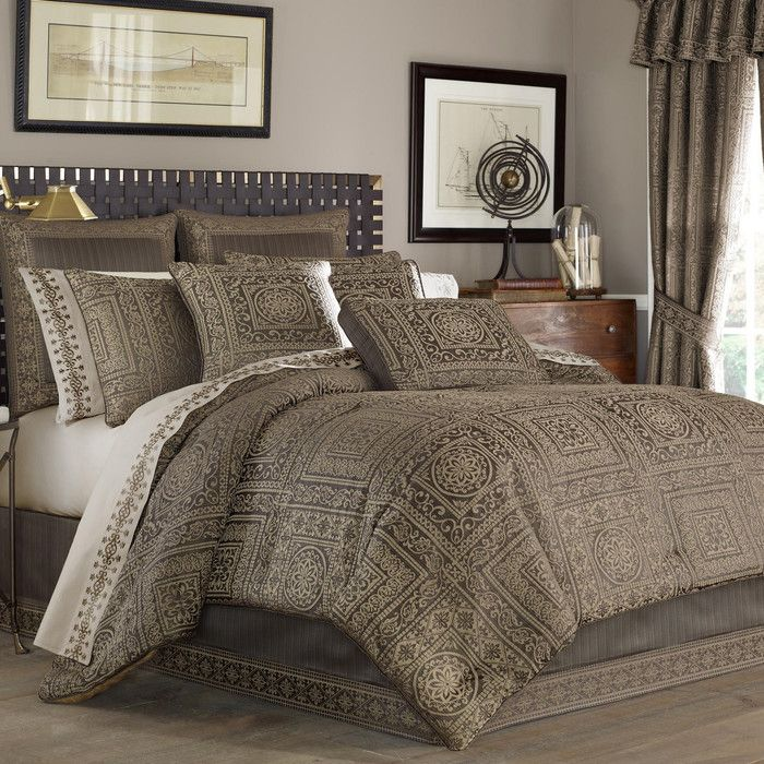 five queens court warwick 4 piece comforter set  reviews