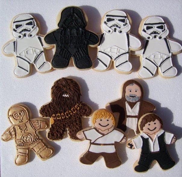 Pin By Susan Prunty On Cookies In 2019 Star Wars Cookies