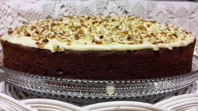 Dark and White Chocolate Cake