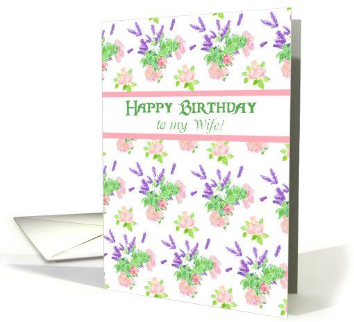 Pretty Birthday Card For Wife Nostalgic Scents of Summer up to – Portuguese Birthday Cards