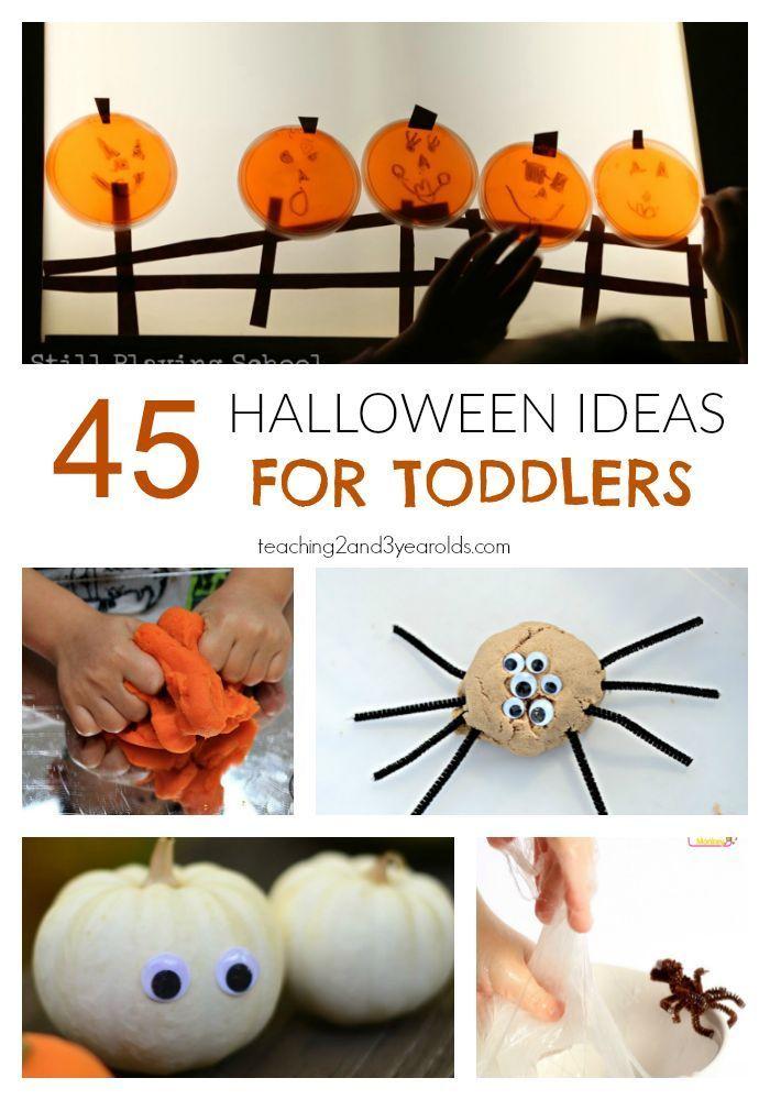 45 Fun Halloween Activities for Toddlers | Pinterest