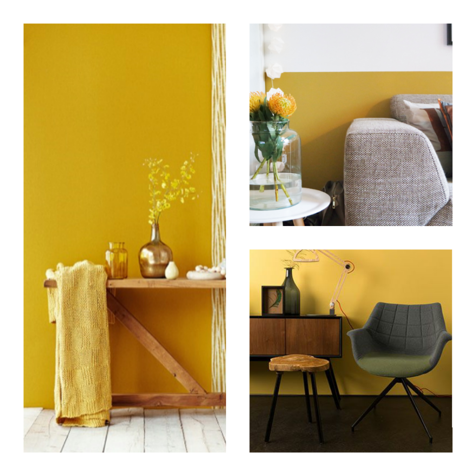Woontrends 2016  Inspiration  Woonkamer geel Slaapkamer