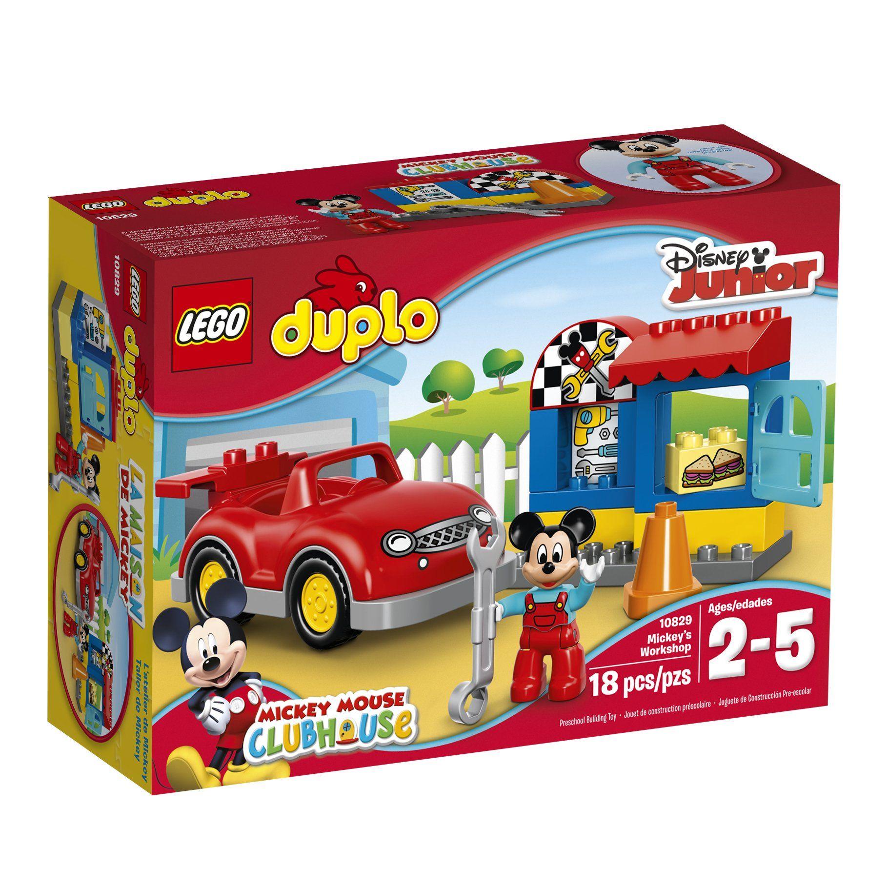 Robot Check Lego Duplo Christmas Toys Mickey Mouse