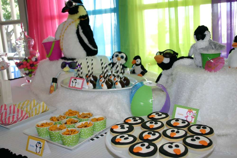 Penguins Birthday Party Ideas | Photo 5 of 19