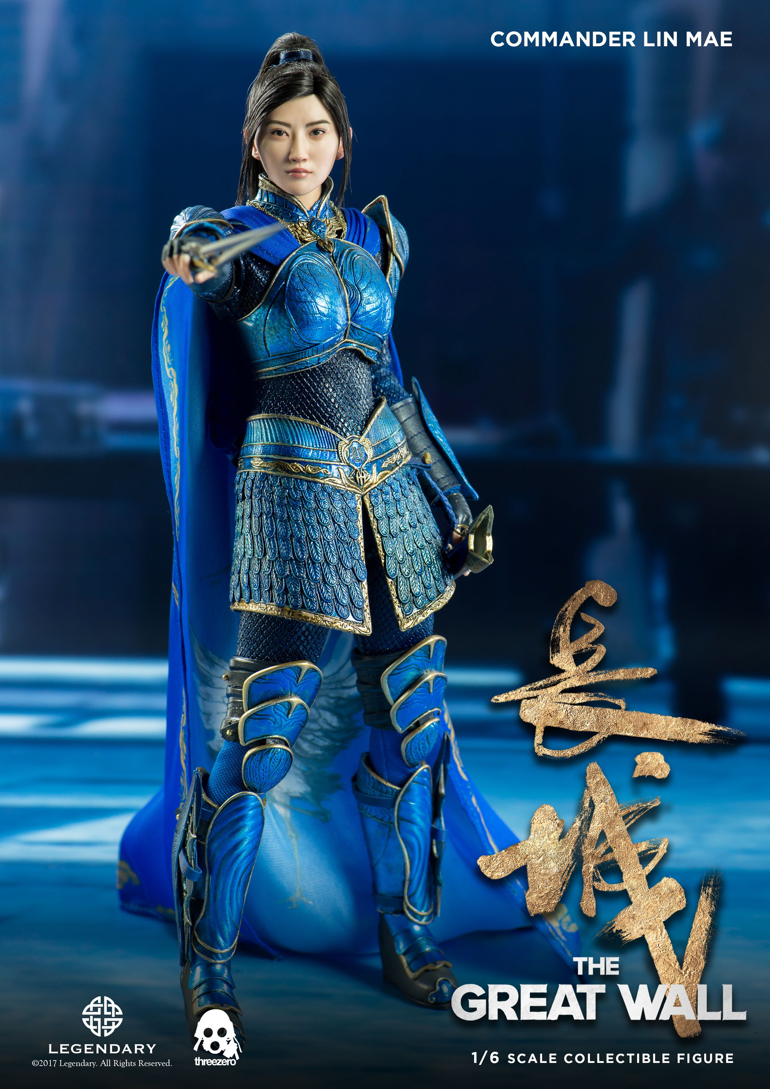 1 6 Scale The Great Wall Commander Lin Mae Collectible Pre Order