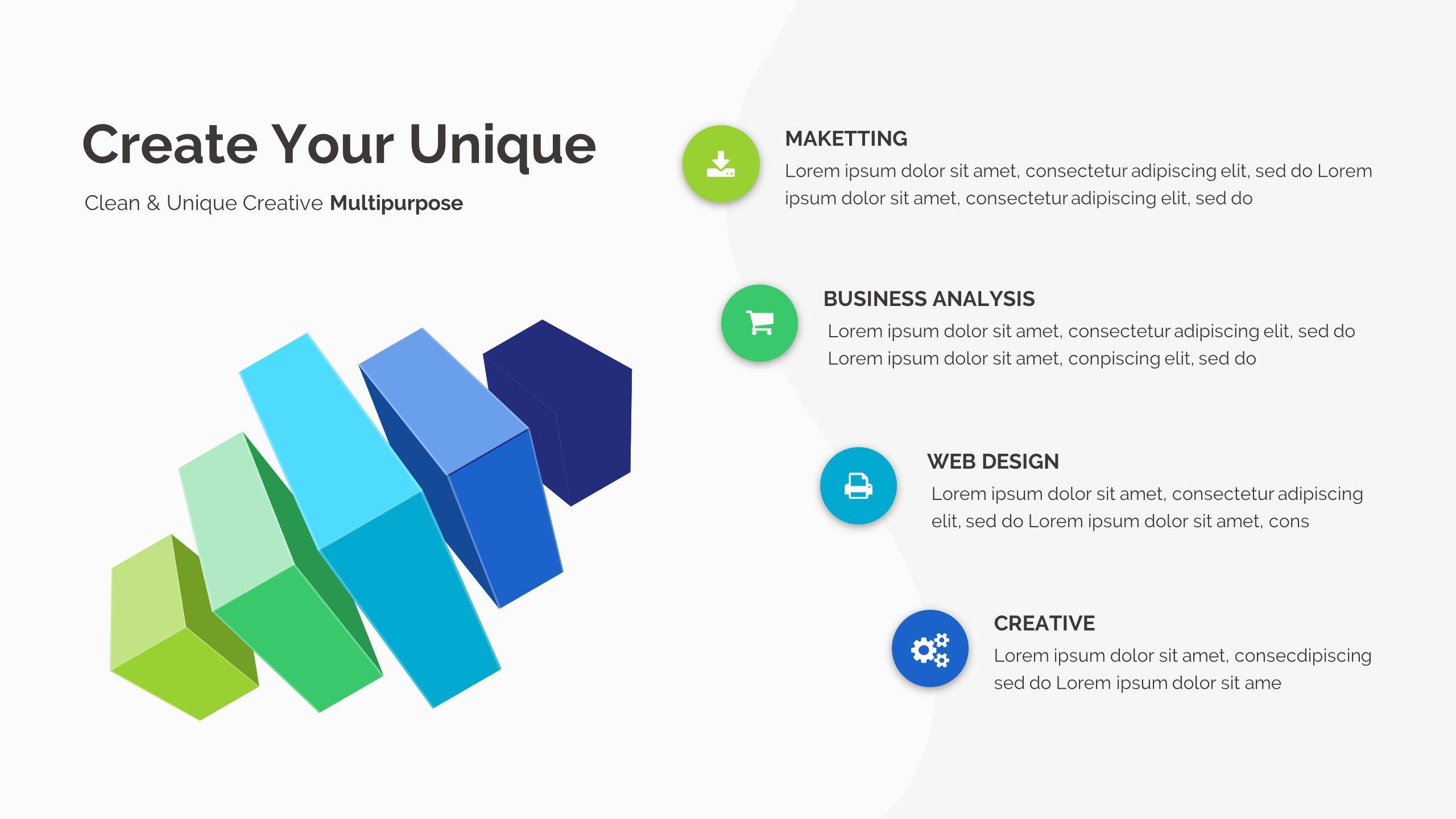 Infinity Pitch Deck Google Slide Template | Google Slides