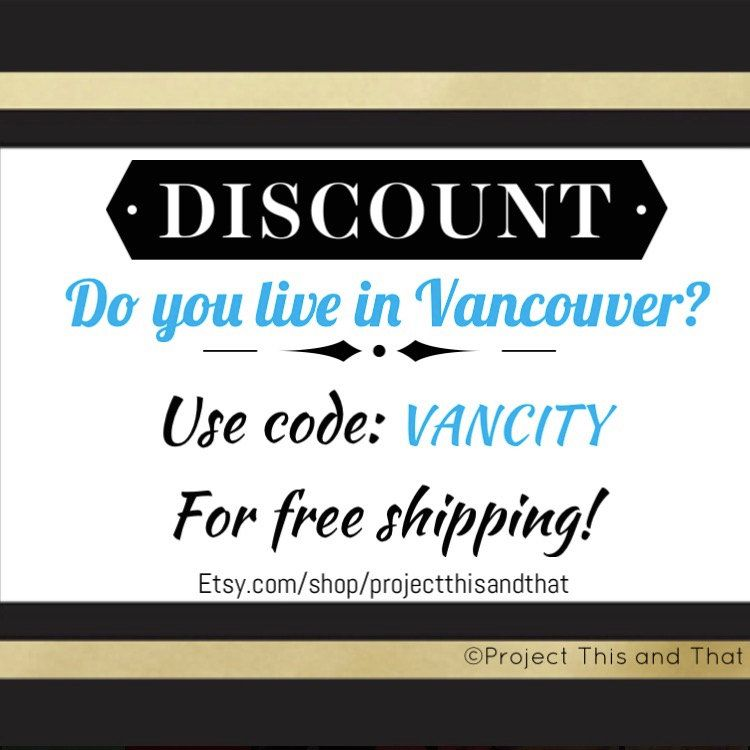 FREE SHIPPING CODE! by ProjectThisAndThat on Etsy Coupon Codes