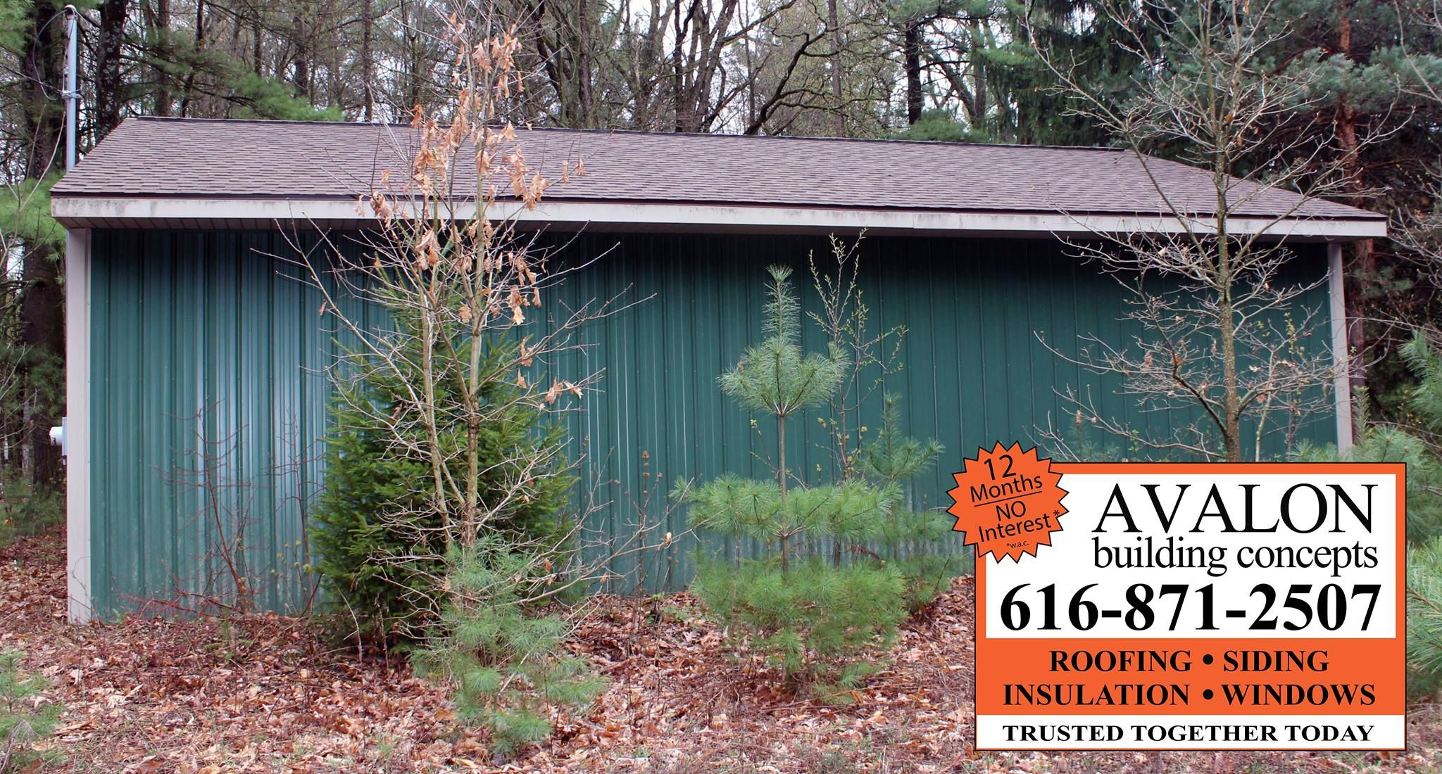 Best Comstock Park Garage Roof Saves Insurance On Stored 400 x 300