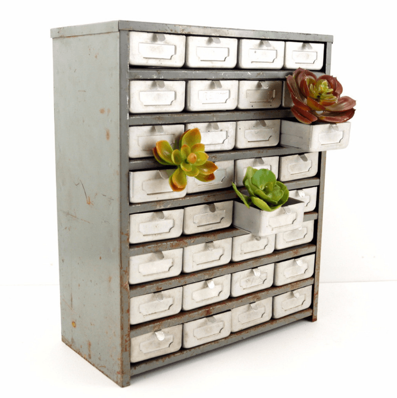 6 Unexpected Uses For Vintage Metal Parts Drawers Blogs Worth