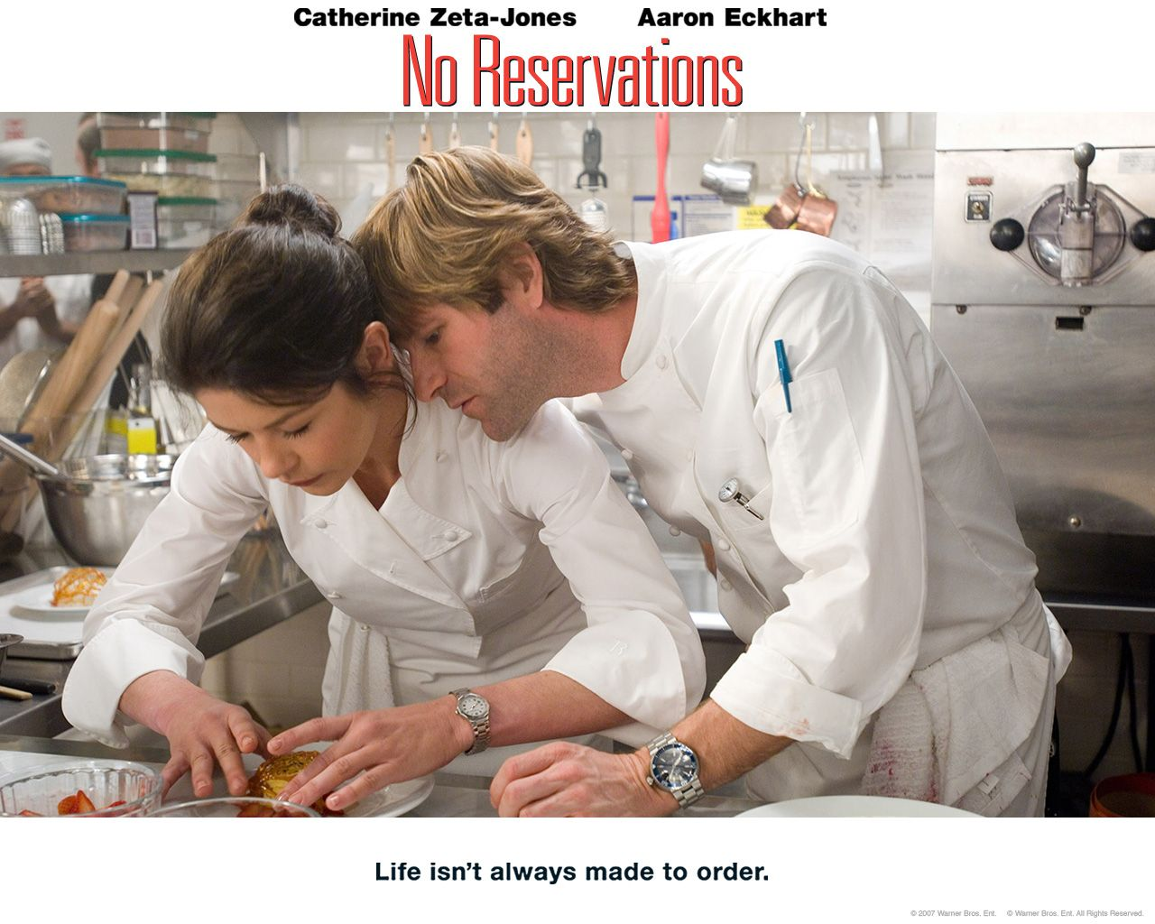 Watch Streaming HD No Reservations, starring Catherine ...