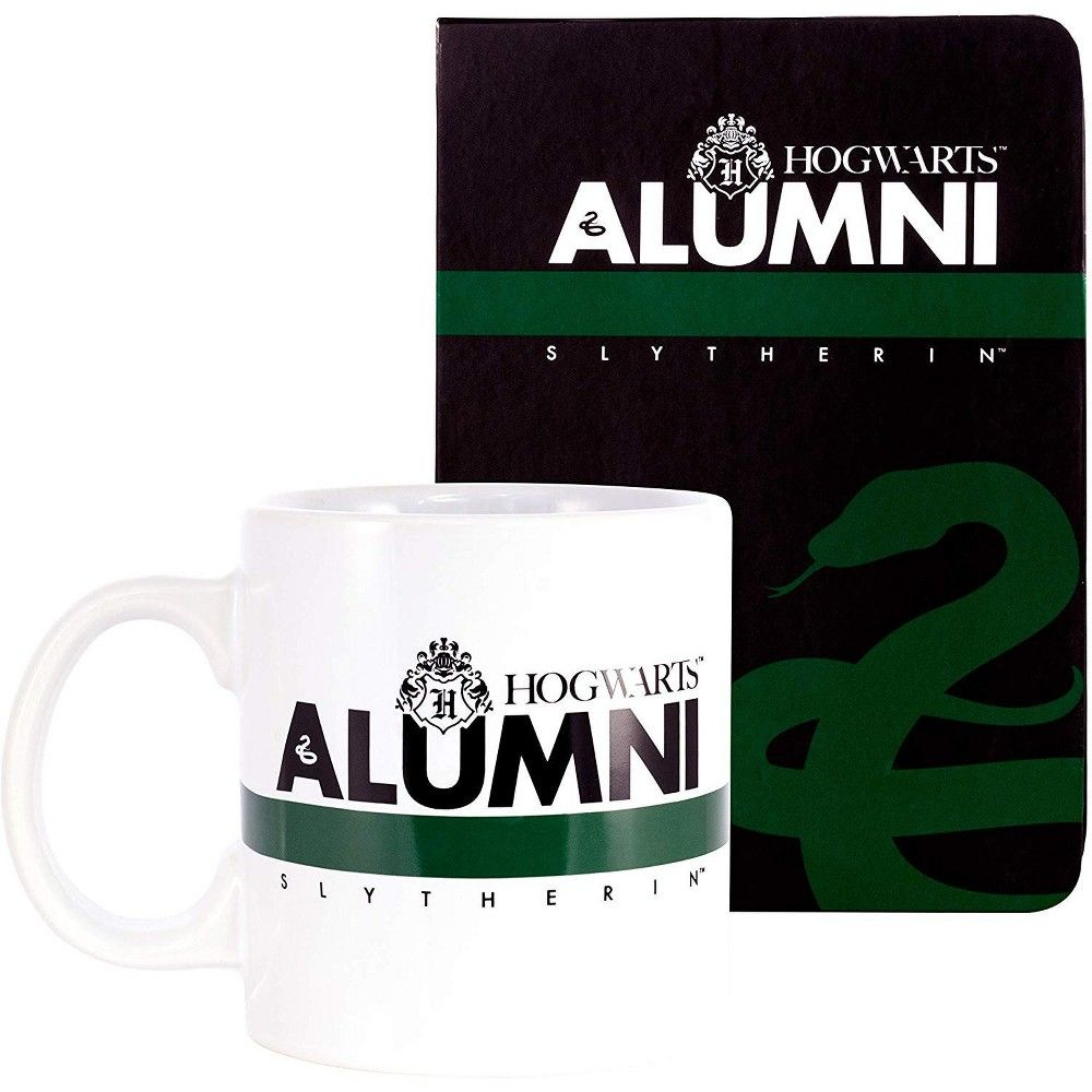 Seven20 Harry Potter Slytherin Alumni 2 Piece Gift Set Journal And Mug In 2020 Slytherin Mugs Harry Potter Merch