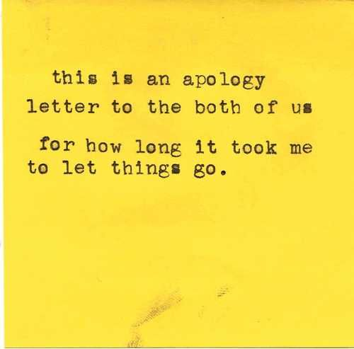 this is an apology letter to the both of us for how long it took - apology letter formal