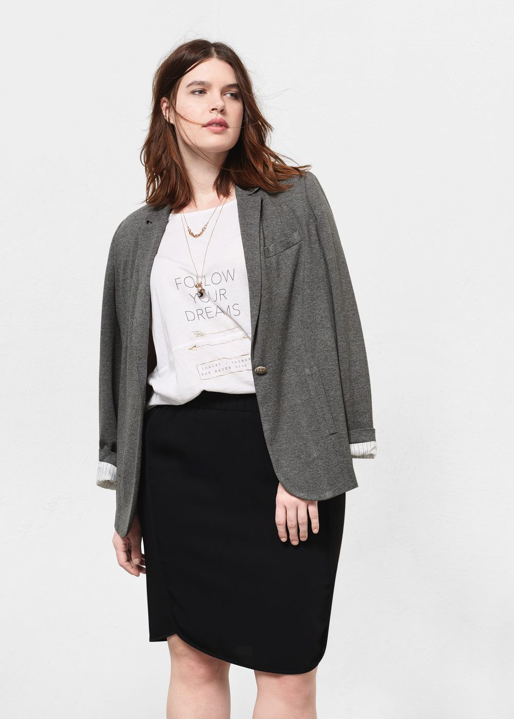 jupe taille fronc e grandes tailles fashion inspiration jupe grande taille taille