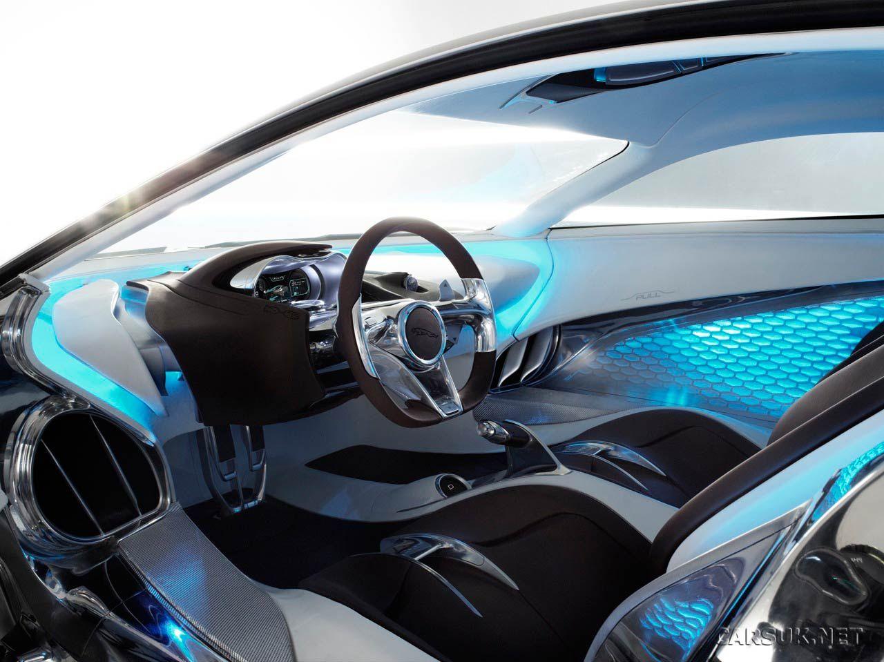 Jaguar C X75 Concept Supercar, Built To Celebrate Jaguaru0027s 75th Anniversary  Inside View