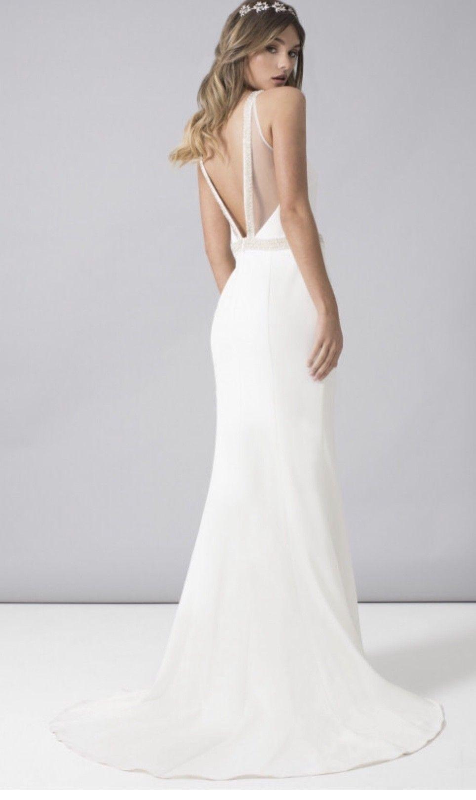 Chi Chi London Hannah Dress New Wedding Dress Save 50 Petite Wedding Dress Wedding Dress Necklines Backless Mermaid Dress