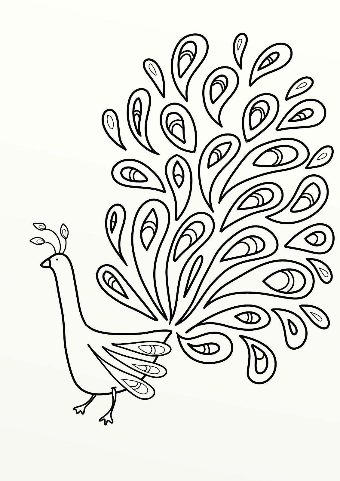 Colouring adults benefits - Print The Peacock Coloring Pages Item 11001 Peacock Coloring Pages Free Coloring Pages Of