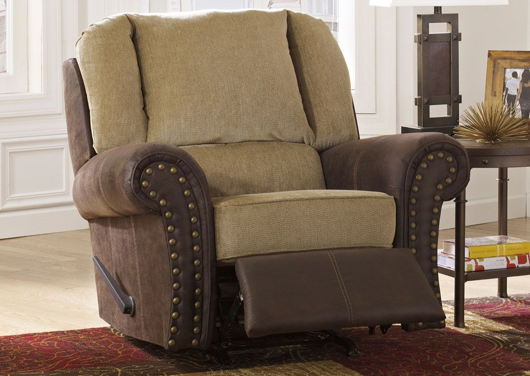 Vandive   Sand   Rocker Recliner By Benchcraft. Get Your Vandive   Sand    Rocker Recliner At Railway Freight Furniture, Albany GA Furniture Store.