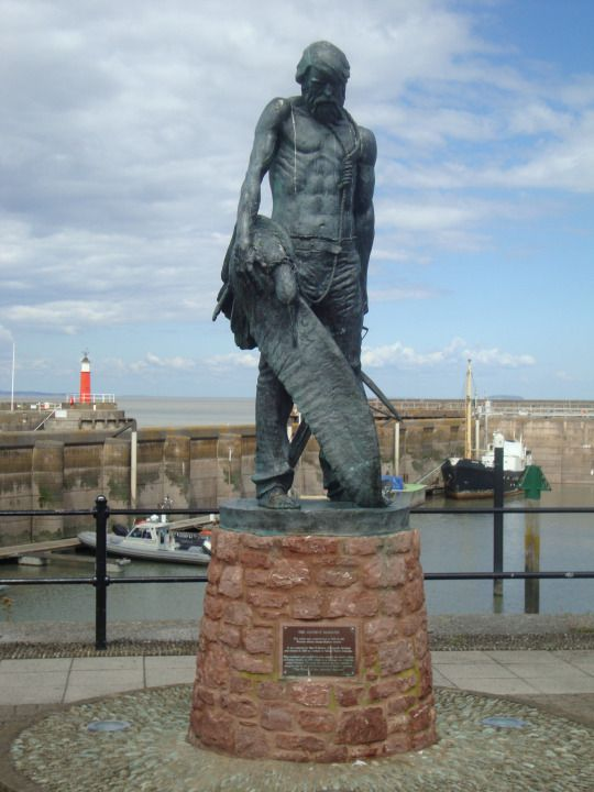 Day 209: The Ancient Mariner, complete with albatross.