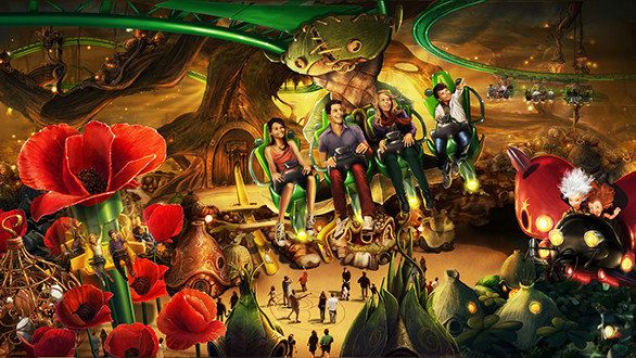 Germany Europa Park Adding Arthur And The Invisibles Ride Theme Park Arthur And The Invisibles Park