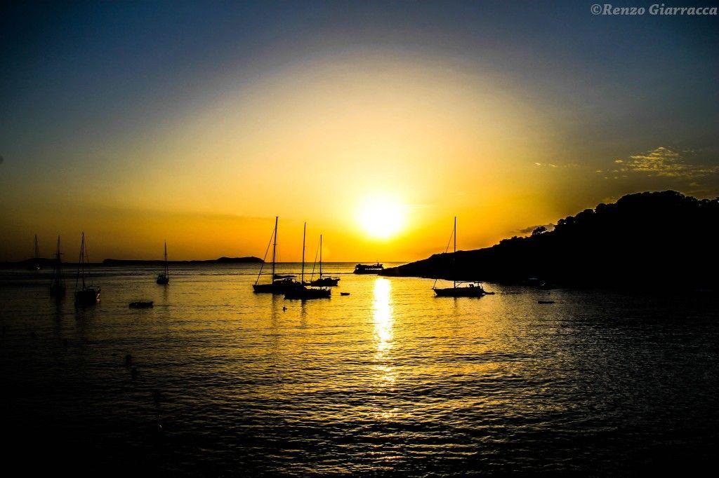 Il tramonto di Cala Salada