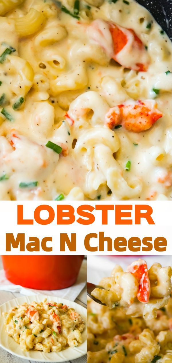 Lobster Mac and Cheese is a delicious seafood pasta recipe made with chunks of precooked lobster, mozzarella, cheddar and Swiss cheese.