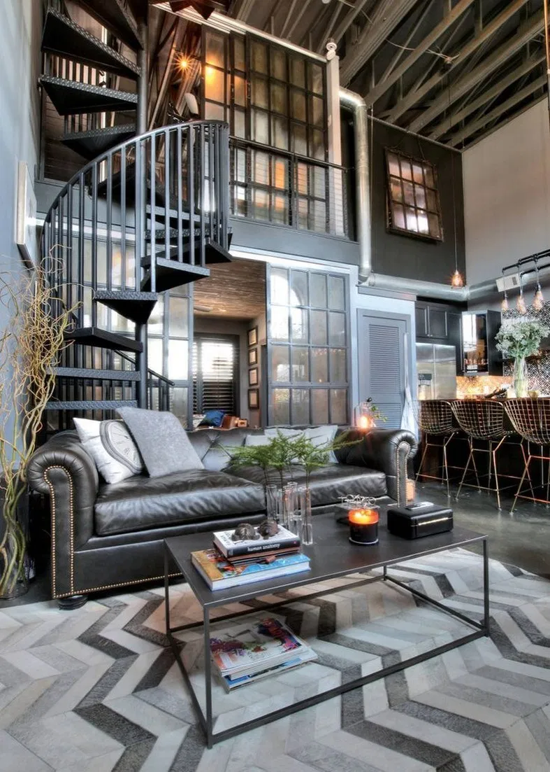 39 Amazing Interior Design Ideas For Modern 1 Industrial Style