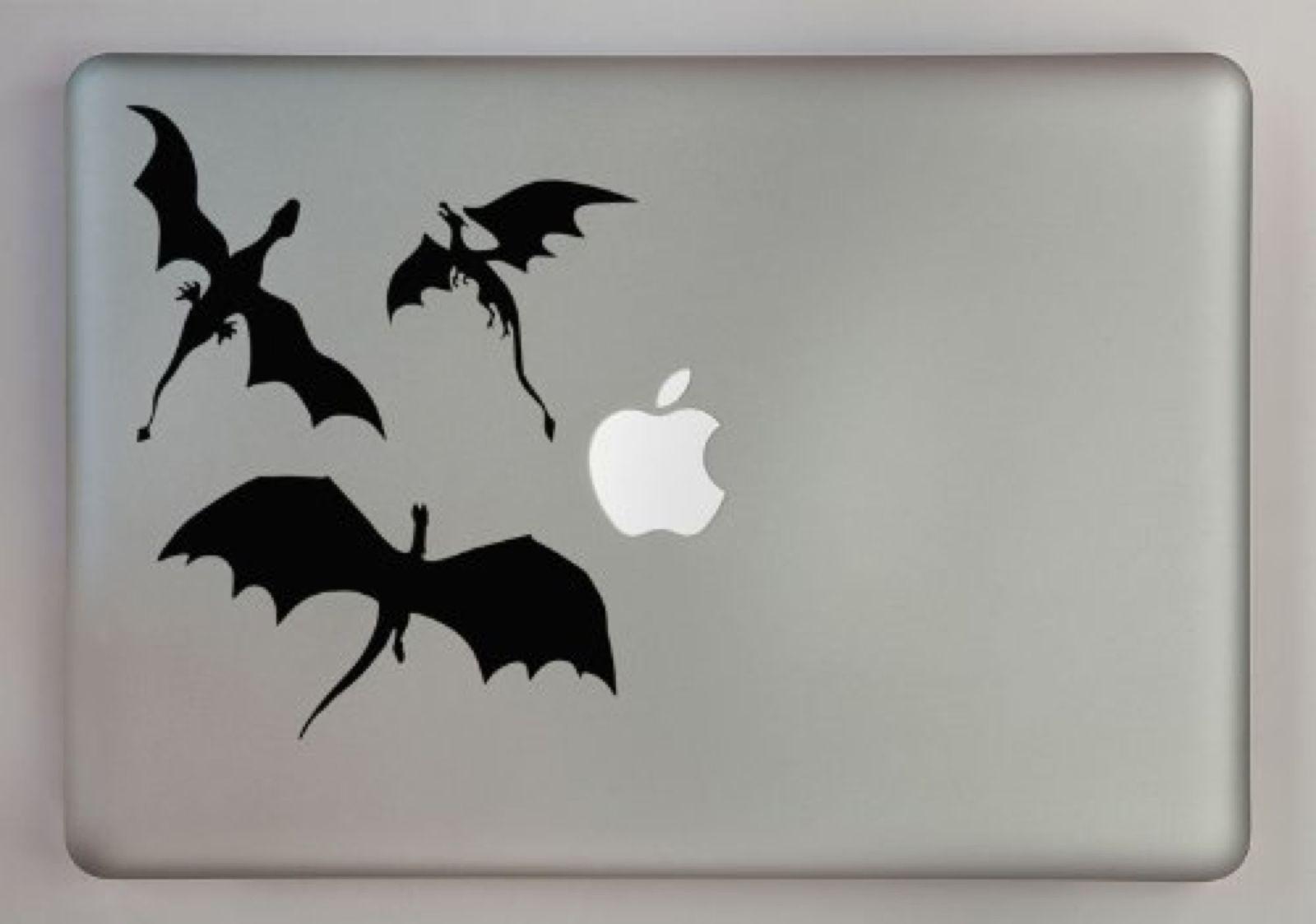 4 4 Aud Dragons From Got Decal For Mac And Cars Black Vinyl Decals Australia Made Ebay Electronics Stickers Tatuagem Tatoo