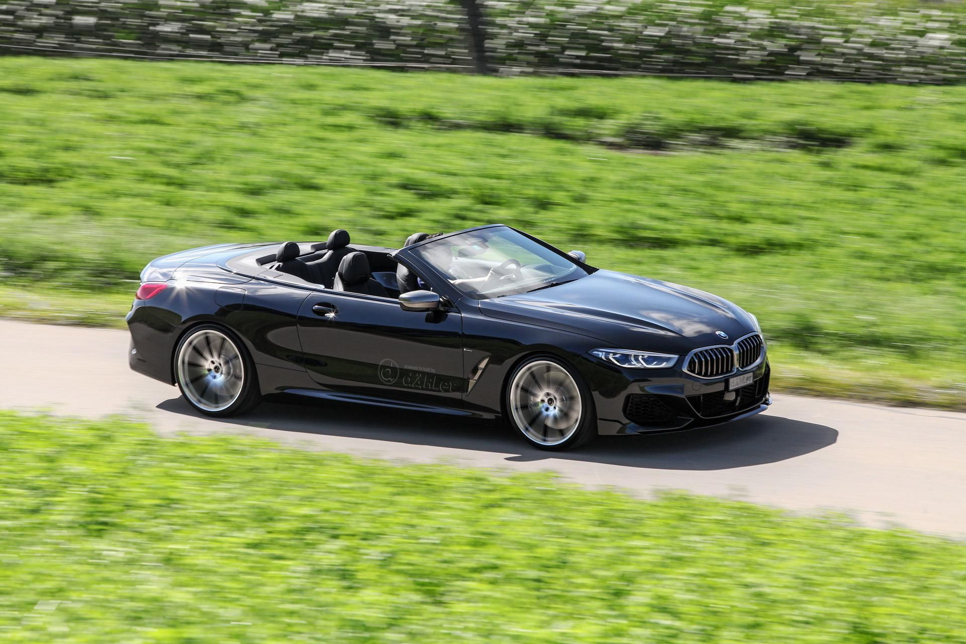 Bmw 8 Series Convertible Dahler Tuning Brings The M850i To 627