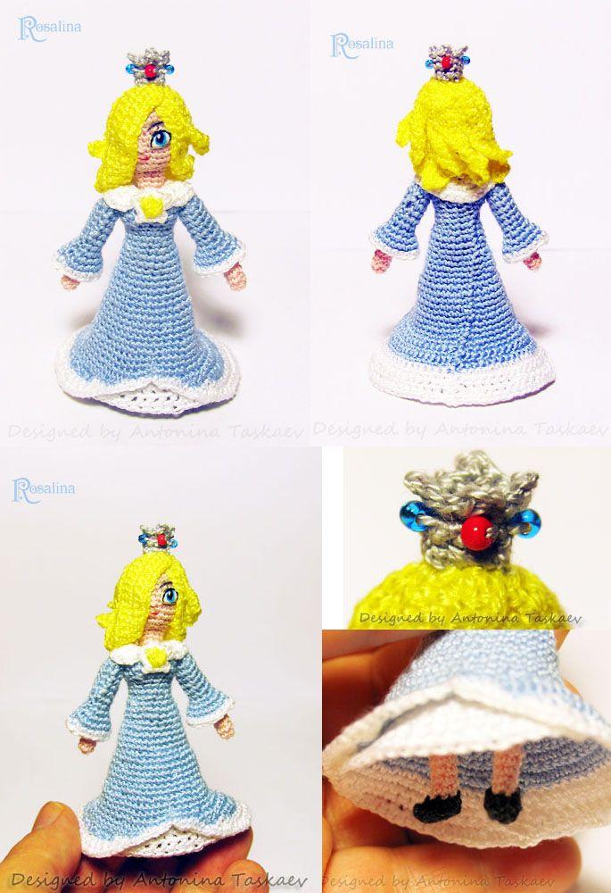 Rosalina from Super Mario by lovebiser on DeviantArt | Amigurumi ...