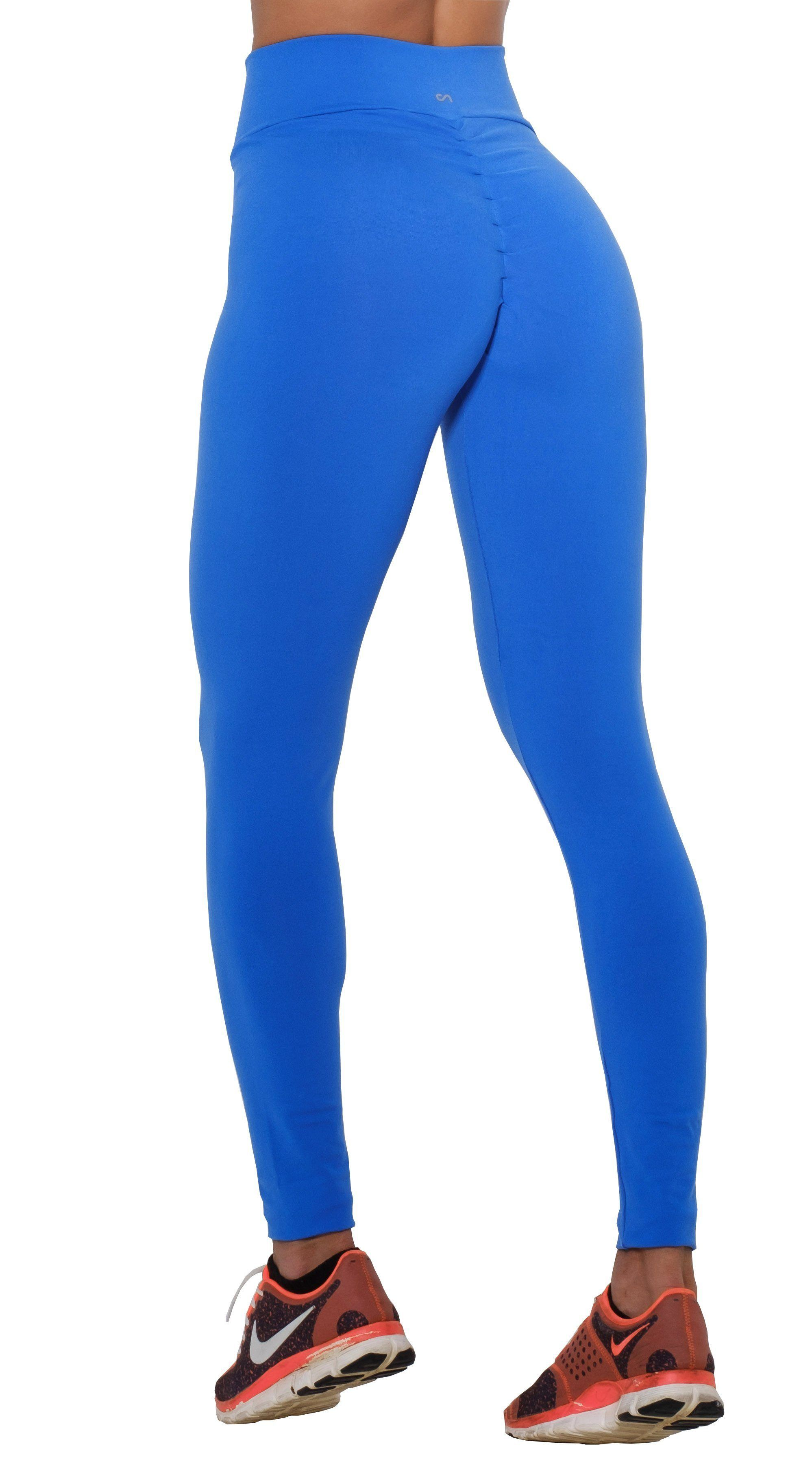 f653710b303e2 Canoan - Brazilian Workout Legging - Scrunch Booty Lift! Royal Blue ...