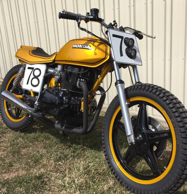 1978 Honda CB400 Street Tracker | Street tracker, Honda ...