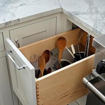 Stove Next To Kitchen Utensils Drawer Kitchen Utensil Storage Kitchen Utensil Organization Small Kitchen Cabinets