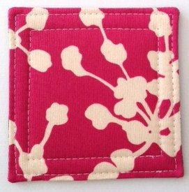Coasters made w/ Pink  Coriander by LoveMyCoasters on Etsy, $14.00