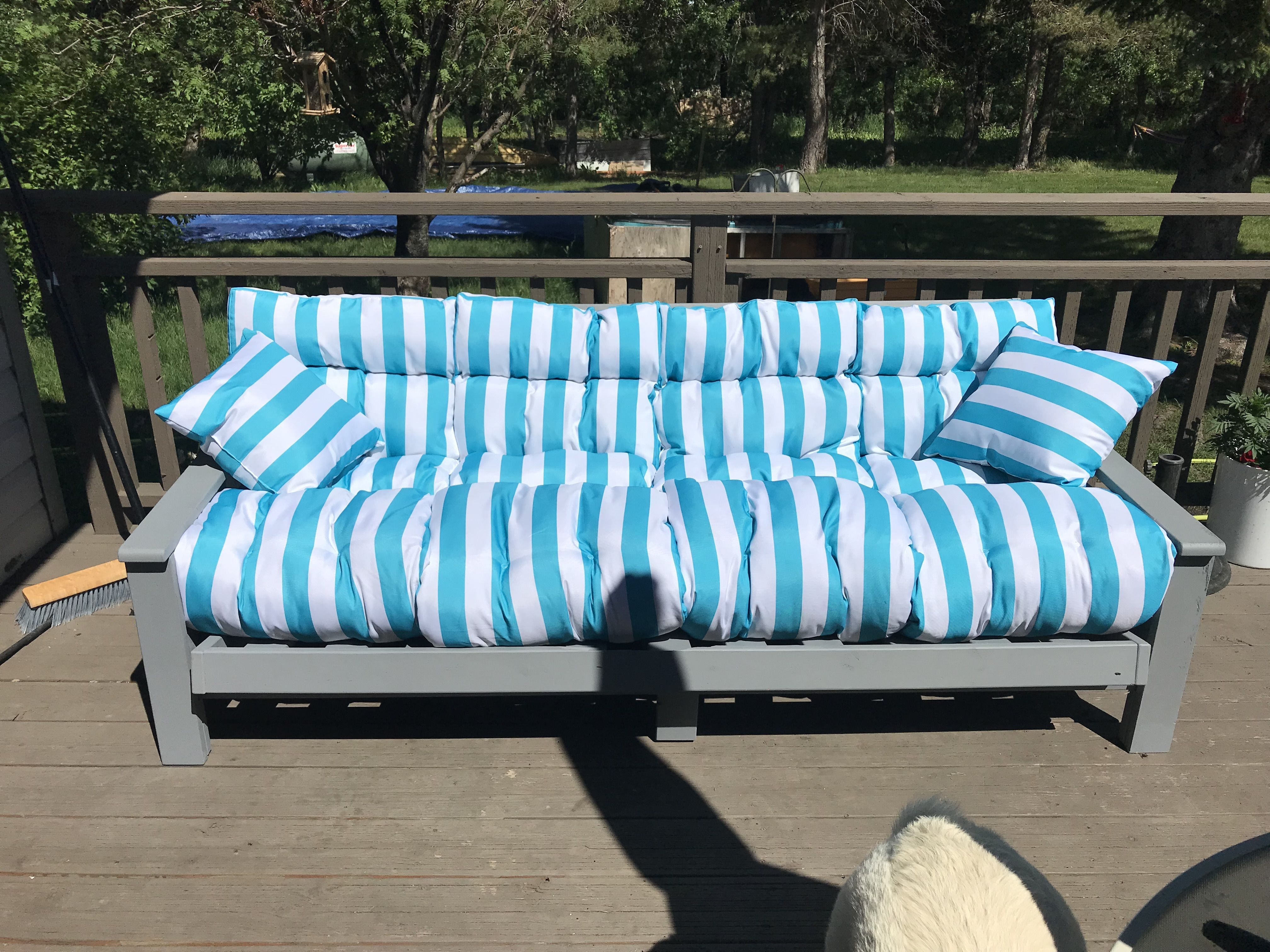 Futon Frame Up Cycle Comfy Patio Couch