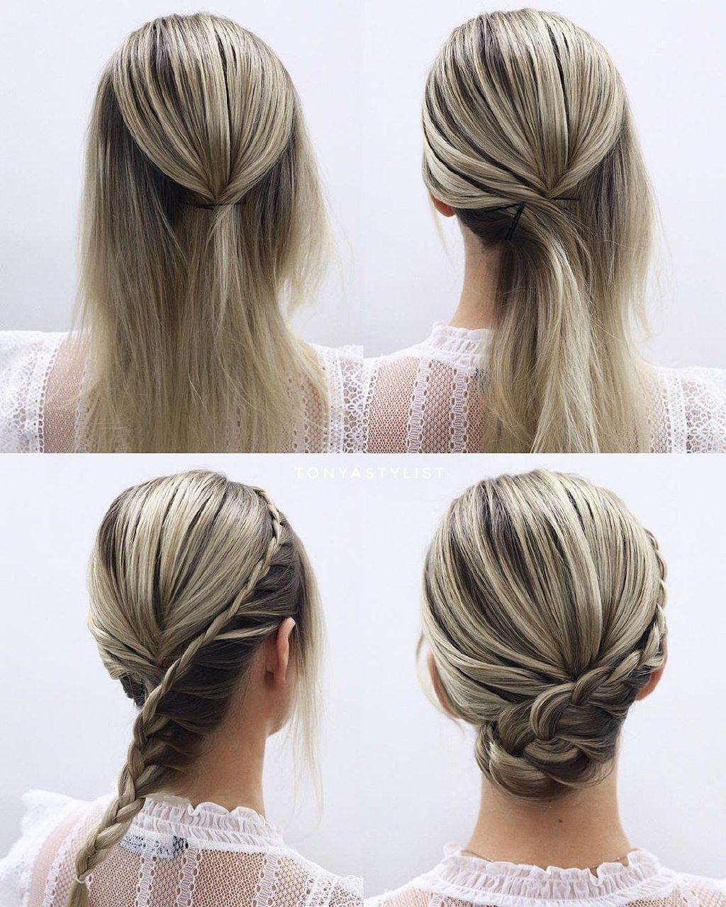 Hairfy Hair Tutorials On Instagram Cute Braided Hairstyle Tutorial Follow Us Hairfy For Mo Hair Tutorial Long Hair Styles Wedding Hairstyles For Long Hair