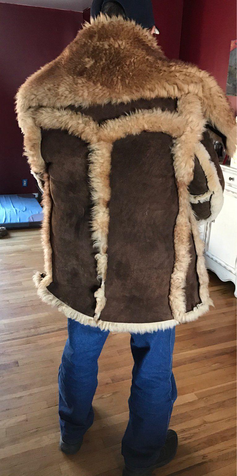 Schott Mountain Man Pinterest To Wear Sheepskin Jacket Jackets 8gS8xqdwra