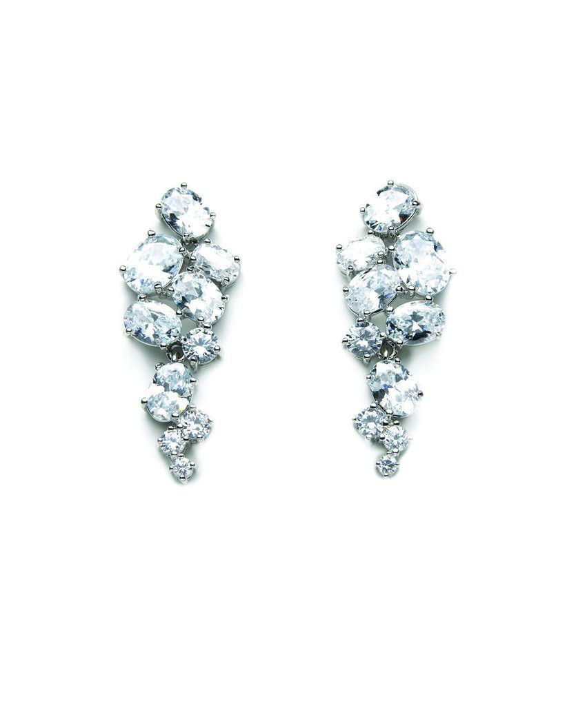 David Tutera Embellish - Vivienne Earrings - All Dressed Up, Jewelry