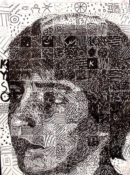 Chuck Close Art Project Idea For Upper Middle School And High School