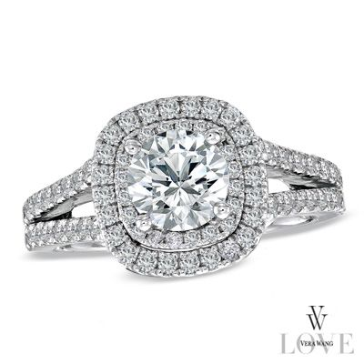 peep vera wangs affordable wedding ring collaboration with zales - Zales Wedding Rings On Sale