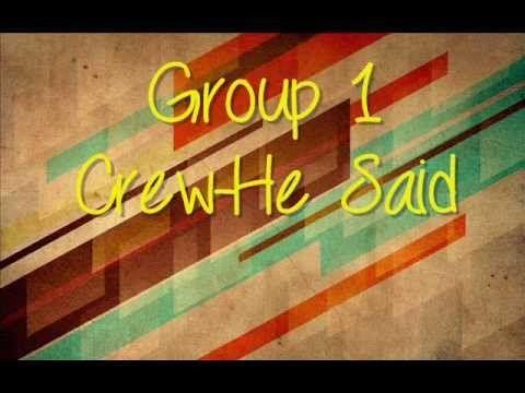 Group1crew- He Said | Sayings Lyrics Praise the lords