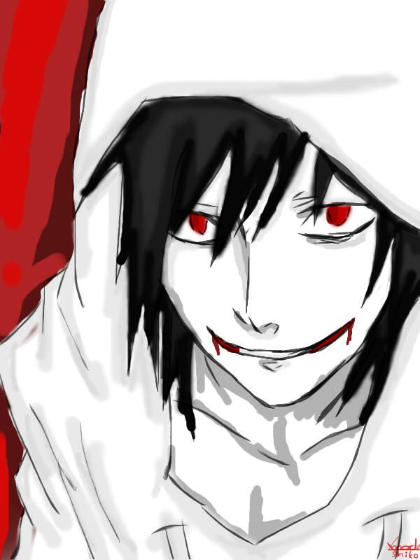 jeff the killer anime | Jeff the killer.. GO TO SLEEP by ...