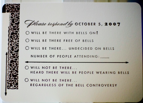 Funny Wedding Invite Poems: Not Sure If I'd Be Able To Pull