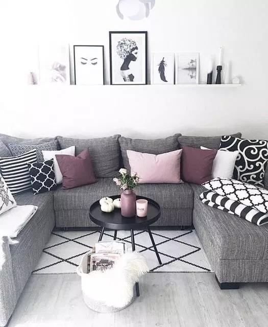 Cozy Black And White Living Room Design Ideas 00005 Rodgerjennings Org Purple Living Room Apartment Living Room Living Room Designs
