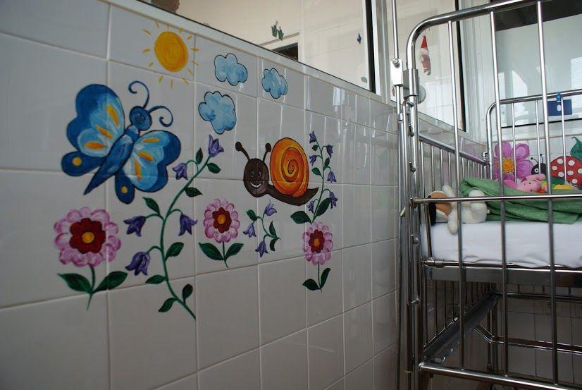 Jótékony falfestés: önkéntesek szépítik a gyerekkórházakat, bölcsiket, ovikat | Életszépítők