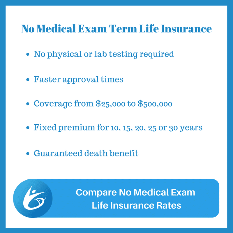 Compare Best No Exam Life Insurance Quotes Life Insurance Beauteous No Exam Life Insurance Quote