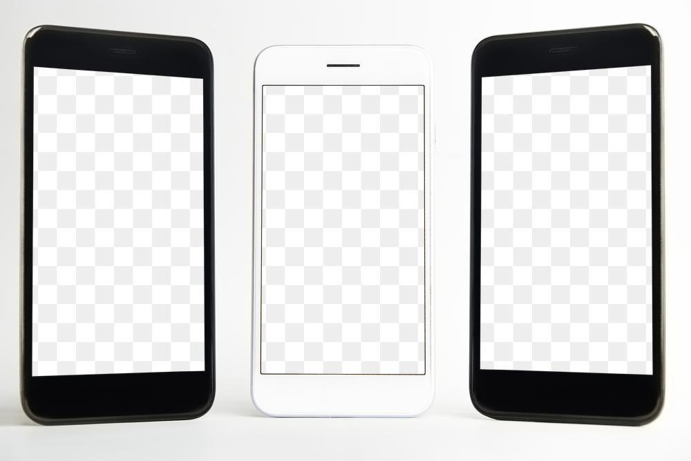 Download Premium Png Of High Quality Mobile Phone Mockup Design Phone Mockup Phone Mobile Phone