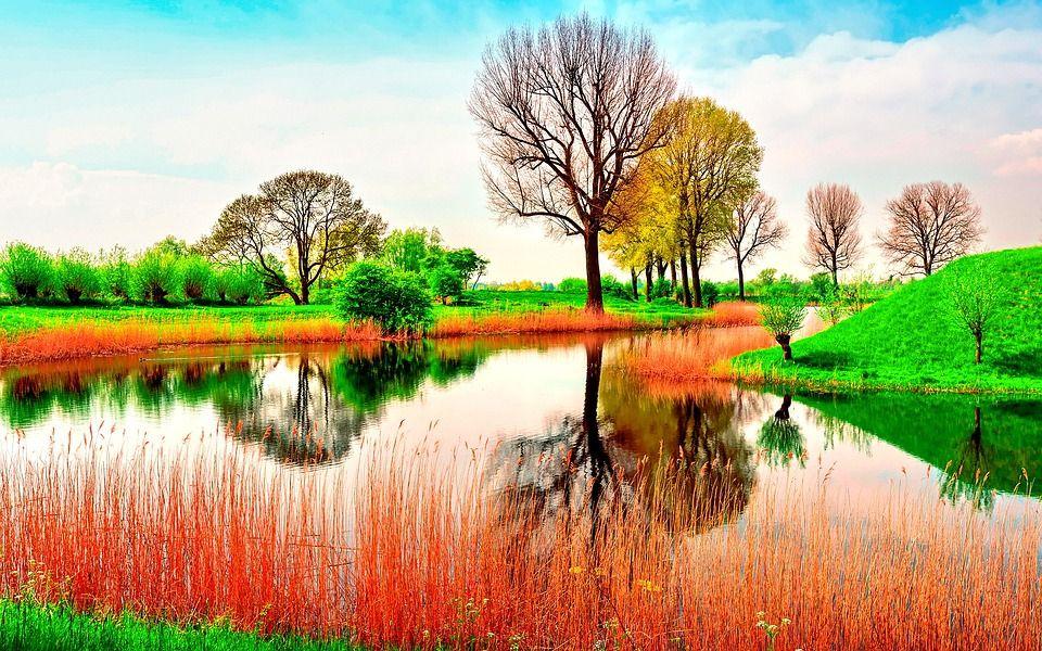Free Image On Pixabay Landscape Scenic Water Canal Spring Landscape Spring Nature Nature Wallpaper Best spring landscape hd wallpapers