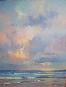 Looking West by Sharon Griffes Tarr in the FASO Daily Art Show