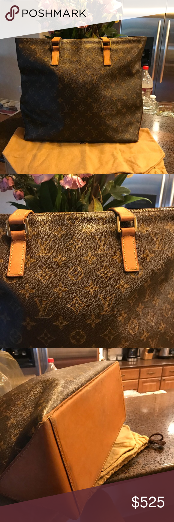 5789020f LouisVuitton Large Mezzo Tote Beautiful Vintage LouisVuitton Large ...